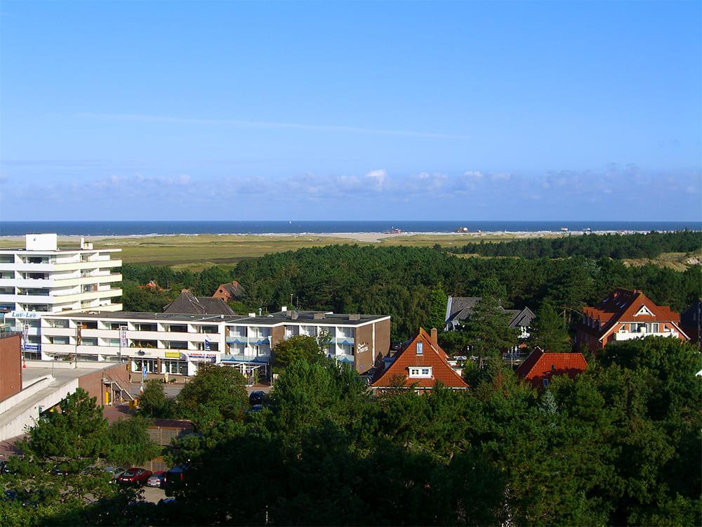 Blick vom Balkon Richtung Ordinger Strand